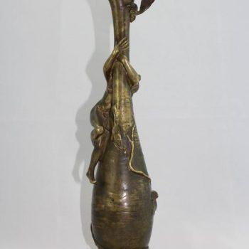 Antoine Bofill Art Nouveau Nude Bronze Sculpture, circa 1900