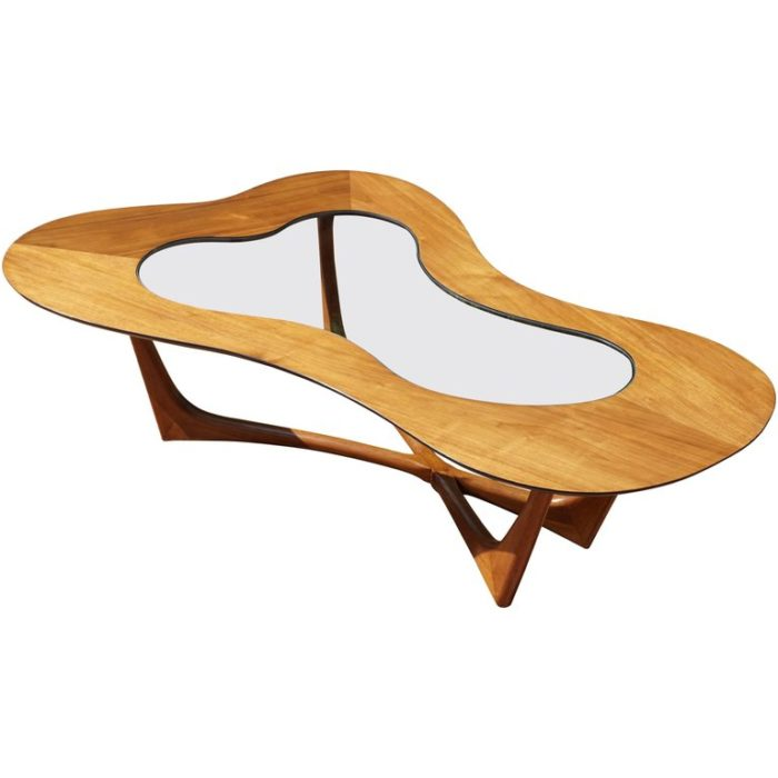 Erno Fabry Biomorphic Coffee Cocktail Table Midcentury