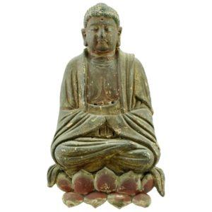 Yuan, Ming Dynasty Buddha, circa 14th Century