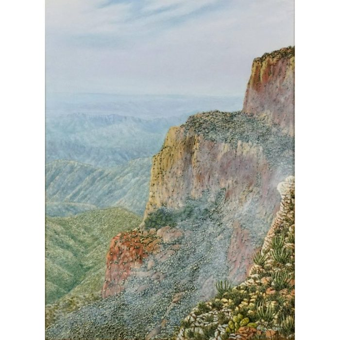 "Daniel Kendrick Texas Painting ""Big Bend"""