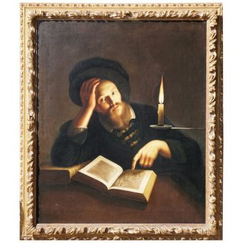 Trophime Bigot Self Portrait in Candlelight, 17th Century