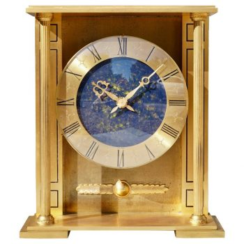 Rare Large Cartier Mantle Clock