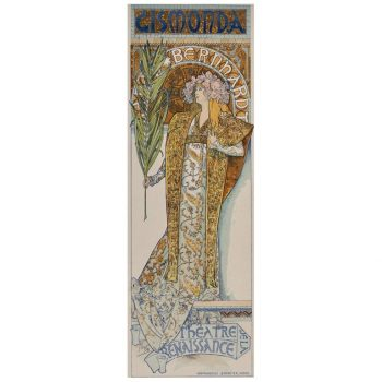 "(after) Alphonse Mucha, ""Gismonda"" from Les Affiches Illustrées"