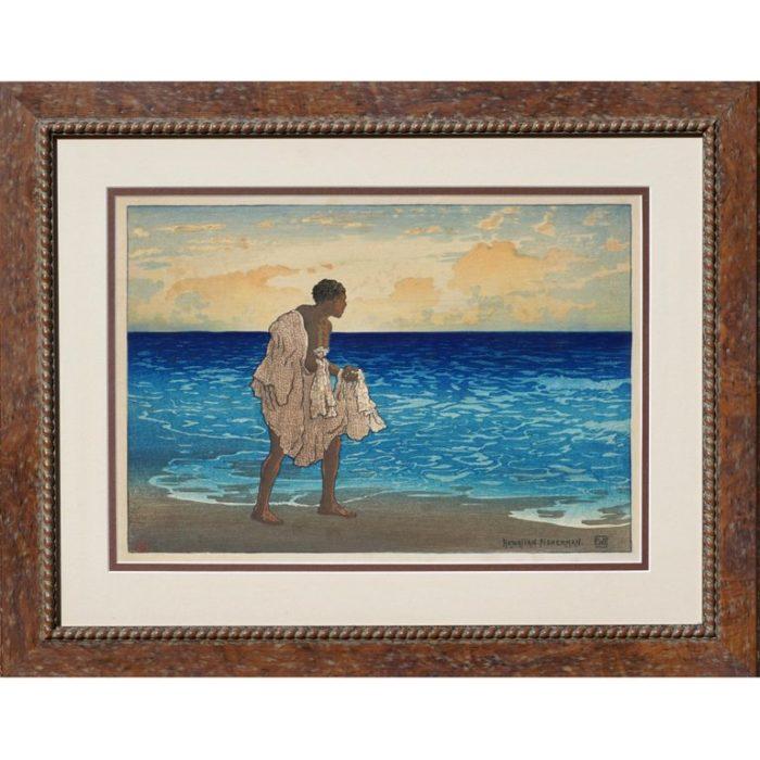 "Charles William Bartlett ""Hawaiian Fisherman"", 1919"