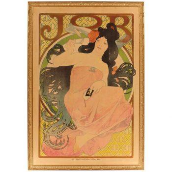 Alphonse Mucha 1898 JOB Poster Art Nouveau Classic!