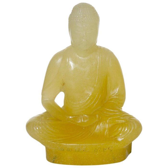 Amalric Walter Pate De Verre Buddha