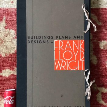 Frank Lloyd Wright Buildings Plans and Designs Large 100 Plate Lithographs