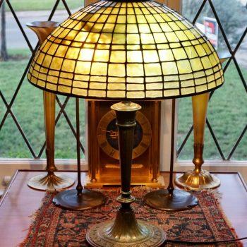 Tiffany Studios Geometric Table Lamp