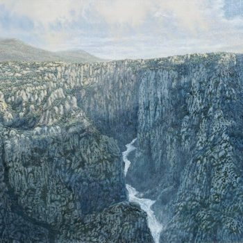 "Daniel Kendrick Oil Painting ""The Great Divide"""
