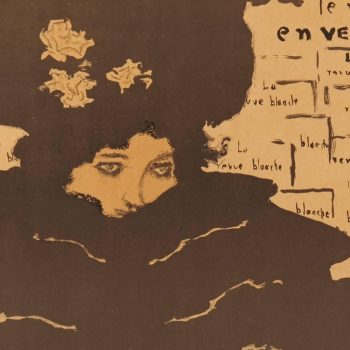 Pierre Bonnard 1894 La Revue Blanche Art Nouveau Poster