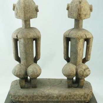 African Dogon Male and Female Figures, Mali