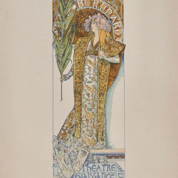 "(after) Alphonse Mucha, ""Gismonda"" from Les Affiches Illustrées"