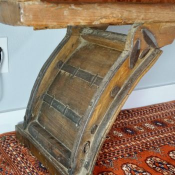18th-19th Century Chinese Qing Dynasty Elmwood Alter Table Bench
