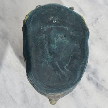 Francois Emile Decorchemont Pate De Verre Mask of Pan
