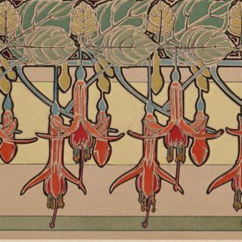 """Alphonse Mucha 1902 Lithograph """"Les Documents Decoratifs"""" PL 40"""