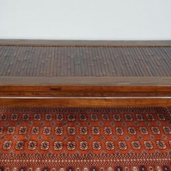 Chinese Ching Dynasty Elm Wood Opium Bed Coffee Table