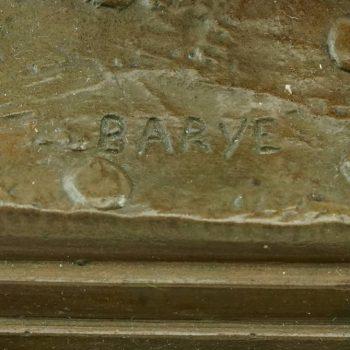 Antoine Louis Barye Bronze Bull F. Barbedienne Fondeur, circa 1876