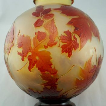 Large Emile Galle Art Nouveau Vase