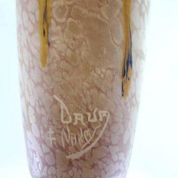 Daum Nancy Art Deco Variegated Vase, circa 1920