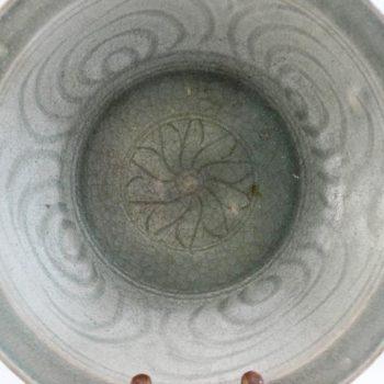 Sawankhalok Ceramic Celadon Plate- – Bowl 15th-16thC Thailand