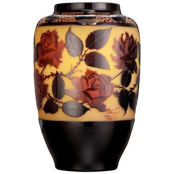 Paul Nicolas D'Argental Monumental Vase, circa 1915