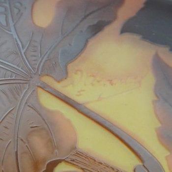 D'Argental Art Nouveau Cameo Hanging Chandelier Lamp Fixture