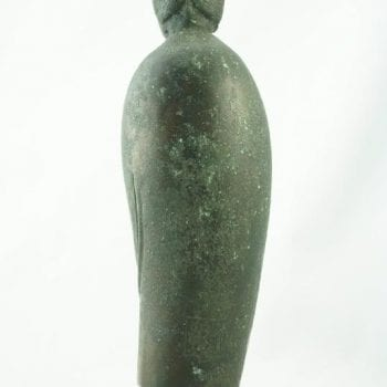 Qing Dynasty Guanyin Bodhisattva Standing Bronze