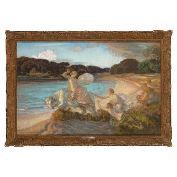 "Emile Rene Menard ""The Rape of Europa,"" 1915"