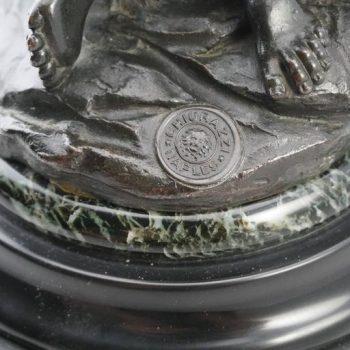 """Giambologna """"Rape of a Sabine Woman"""" Bronze Chiurazzi Foundry, circa 1880"""