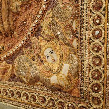 Burmese Kalaga Tapestry
