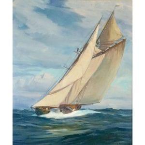 """Emile Albert Gruppe """"The Henry Ford Schooner"""" Gloucester"""