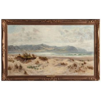 Daniel Sherrin, Dunes on a Welsh Coast, circa 1900