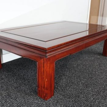 Mid-Century Chinese Rosewood Coffee Table