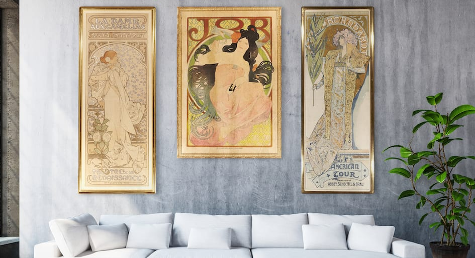 ALPHONSE MUCHA collection by Avantiques