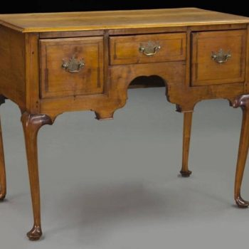 American 18th Century Maple Dressing Table