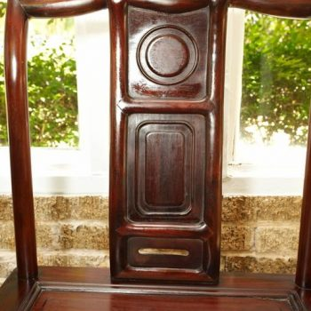 19th Century Rosewood Chinese Side Chairs
